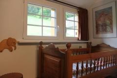 Kinderbett im Doppelzimmer